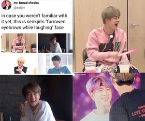 jin, k-pop, and kpop image
