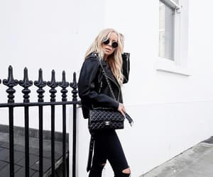 black jeans, fashion, and outfit image