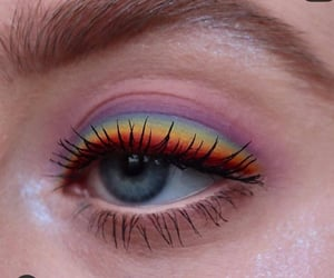 aesthetic, cool makeup, and creative image