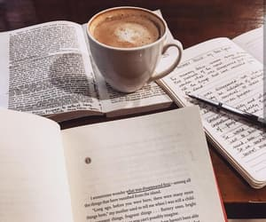 books, coffee, and literature image