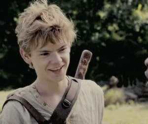 gif, the maze runner, and newt image