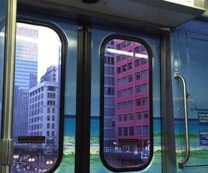 grunge, city, and train image