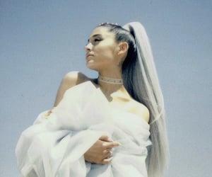hair, white, and ariana image