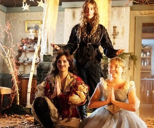 emma watson, little women, and florence pugh image