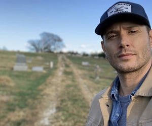 dean winchester, Jensen Ackles, and Kansas image
