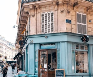 travel, cafe, and city image