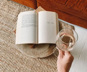 book, cocktail, and drink image