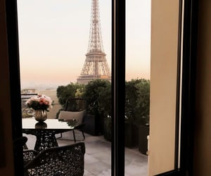 beautiful, paris, and relax image