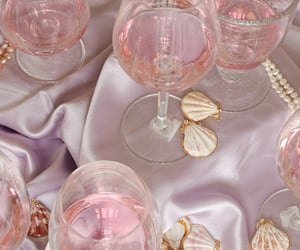 pink, accessories, and drink image