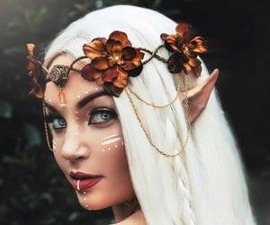 makeup, elf, and fantasy image
