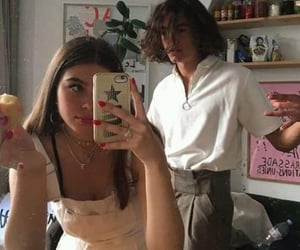 couple, cute, and aesthetic image