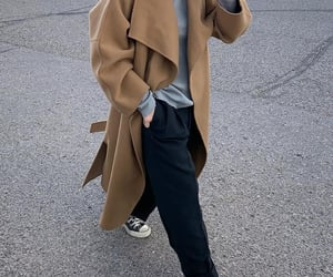 all star, fashion, and camel coat image