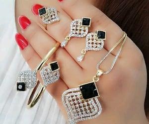 bangles, earrings, and fashion image
