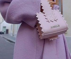 fashion, purple, and purse image