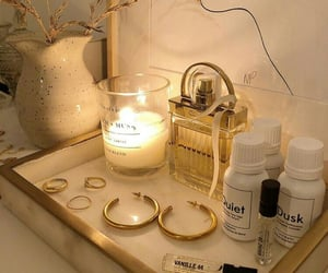 perfume and candle image
