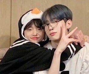 x1, cute, and han seungwoo image