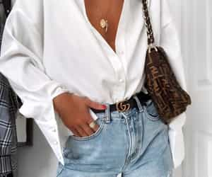 fashion, accessories, and denim image
