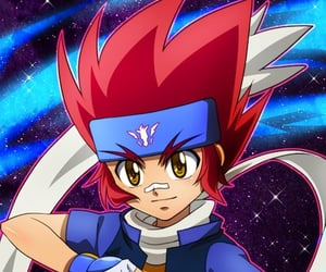 anime, beyblade metal fight, and gingka image