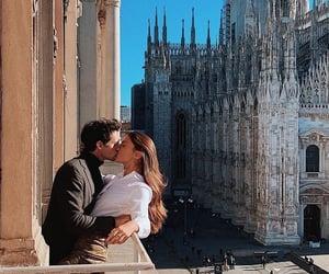 love, kiss, and milan image