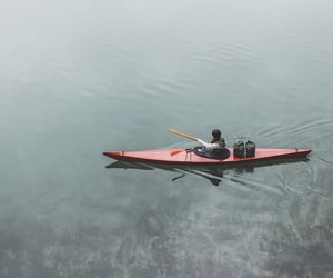adventure, boat, and calm image