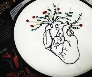 anatomy, art, and embroidery image