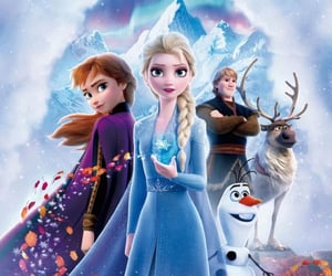 disney, frozen, and frozen 2 image