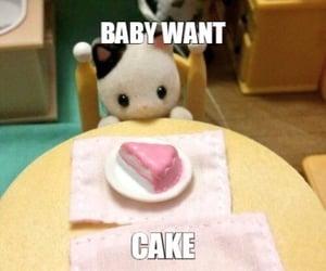 cake, kawaii, and meme image