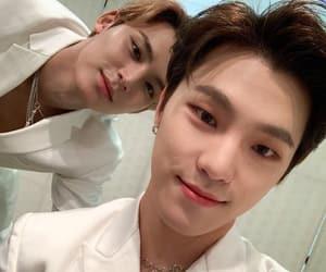 Chan, mingyu, and dino image