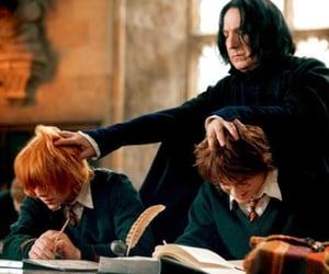 biblioteca, magic, and hair image