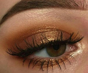 bronze, eye, and cosmetics image