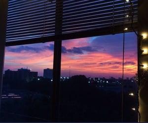 sky, light, and city image