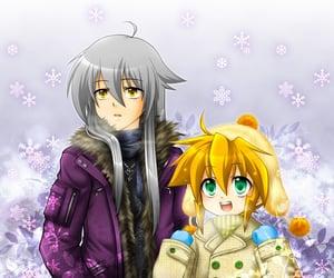 anime, tsubasa, and snow image