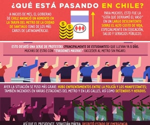 chile, pictoline, and protestas image