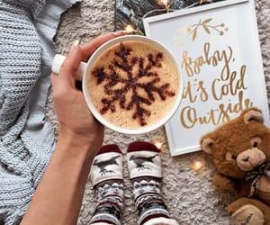 aesthetic, latte, and yummy image