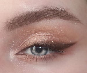 eye, aesthetic, and glitter image