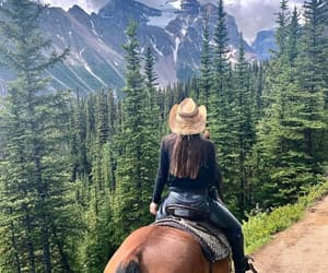 Cowgirl, cowgirls, and equestrian image