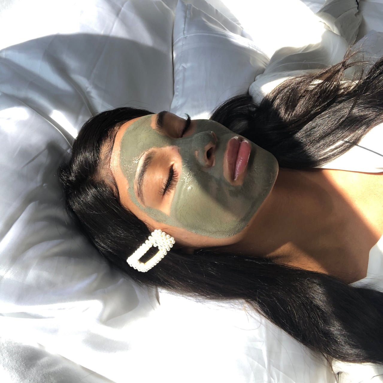 girl, beauty, and skincare image