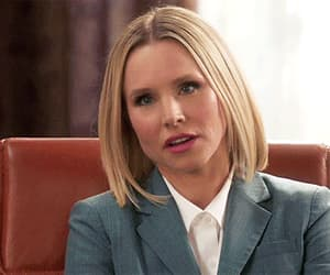 gif, kristen bell, and the good place image