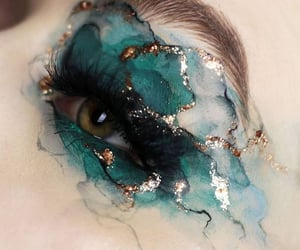 makeup, art, and aesthetic image