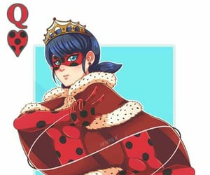 ladybug, marinette, and miraculous ladybug image