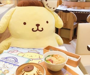 cafe, sanrio, and sanrio cafe image