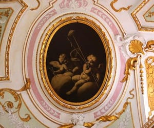 art, baroque, and ceiling image