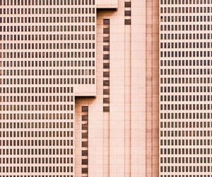 architecture, pastel, and peach image