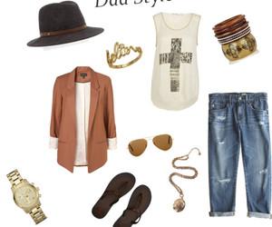 chic, fashion, and dada style image
