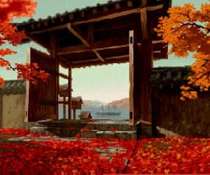 anime, drawing, and gif image