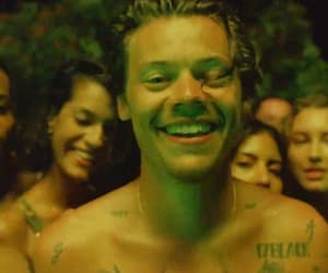Harry Styles, lights up, and harry image