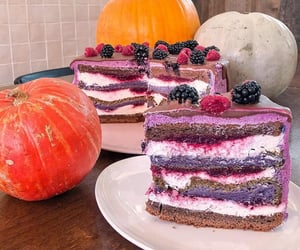 berry, cafe, and cake image