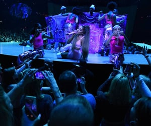 concert, ariana, and grande image