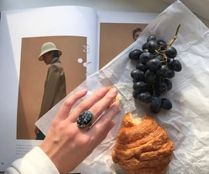 croissant, food, and rings image