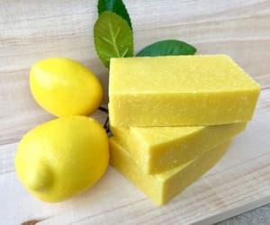 citrus, etsy, and lemon soap image